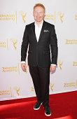 Jesse Tyler Ferguson arrives at Television Academy's Directors Peer Group choreographers celebration held at Leonard H Goldenson Theatre on August 10...