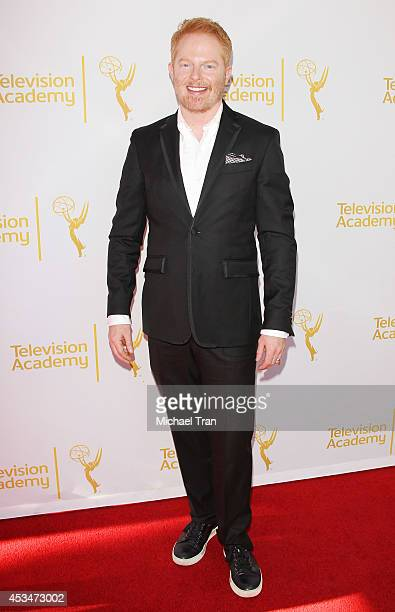 Jesse Tyler Ferguson arrives at Television Academy's Directors Peer Group choreographers celebration held at Leonard H Goldenson Theatre on August 10...