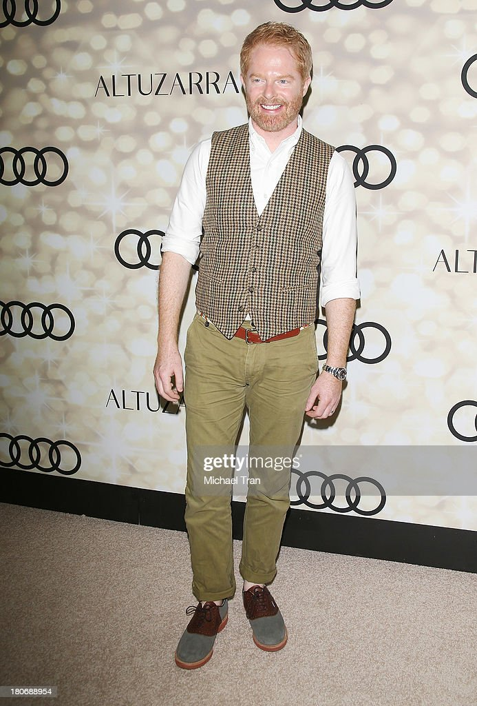 Jesse Tyler Ferguson arrives at the Audi and Altuzarra EMMYs week 2013 kick-off party held at Cecconi's Restaurant on September 15, 2013 in Los Angeles, California.