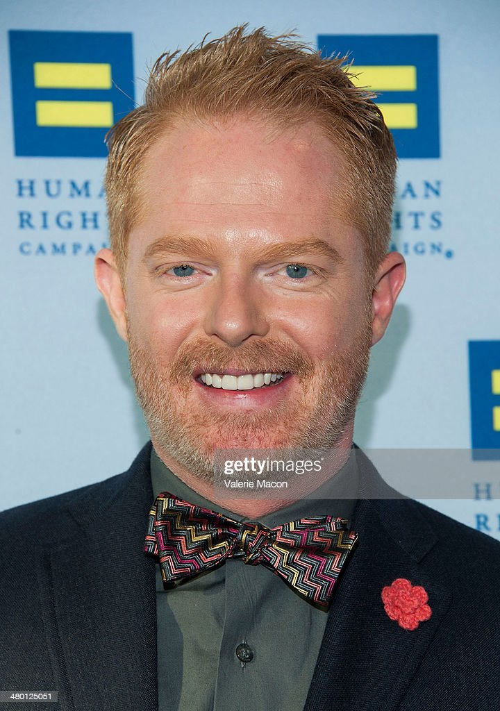 <a gi-track='captionPersonalityLinkClicked' href=/galleries/search?phrase=Jesse+Tyler+Ferguson&family=editorial&specificpeople=633114 ng-click='$event.stopPropagation()'>Jesse Tyler Ferguson</a> arrives at the Human Rights Campaign Los Angeles Gala Dinner at JW Marriott Los Angeles at L.A. LIVE on March 22, 2014 in Los Angeles, California.