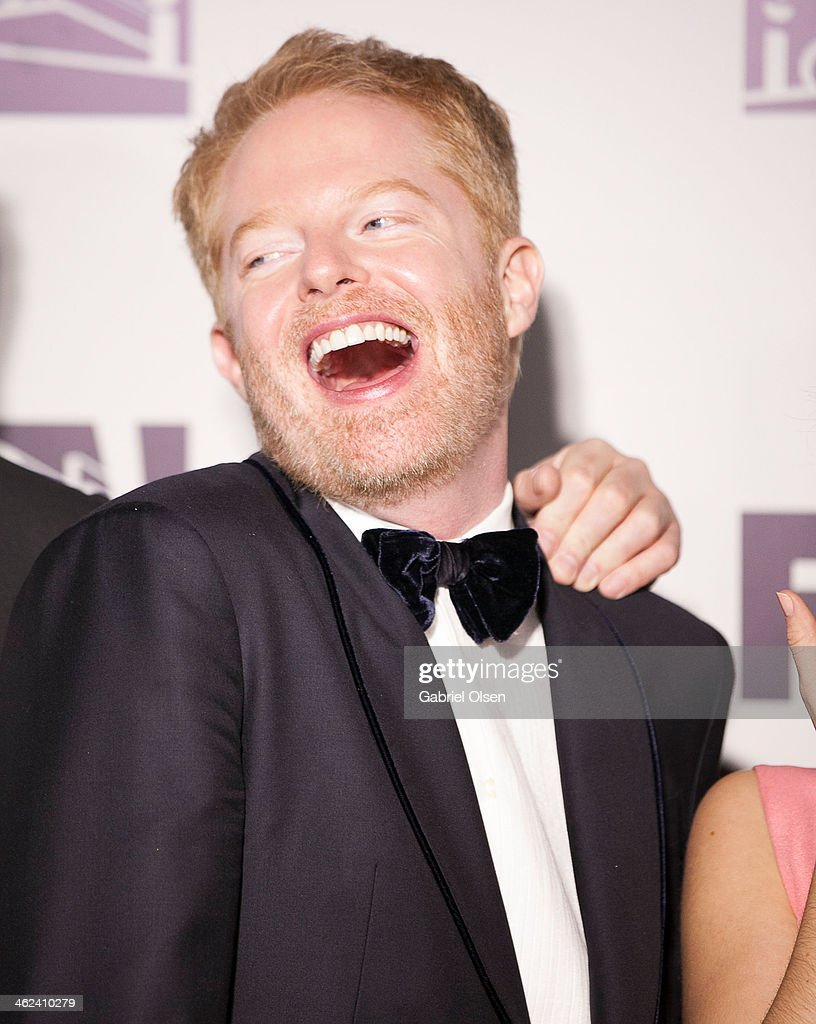 <a gi-track='captionPersonalityLinkClicked' href=/galleries/search?phrase=Jesse+Tyler+Ferguson&family=editorial&specificpeople=633114 ng-click='$event.stopPropagation()'>Jesse Tyler Ferguson</a> arrives for Fox And FX's 2014 Golden Globe Awards Party - Arrivals on January 12, 2014 in Beverly Hills, California.