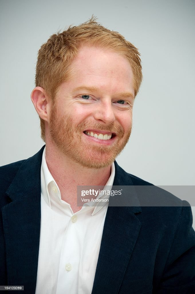 <a gi-track='captionPersonalityLinkClicked' href=/galleries/search?phrase=Jesse+Tyler+Ferguson&family=editorial&specificpeople=633114 ng-click='$event.stopPropagation()'>Jesse Tyler Ferguson</a> at the 'Modern Family' Press Conference at the Four Seasons Hotel on October 11, 2012 in Beverly Hills, California.
