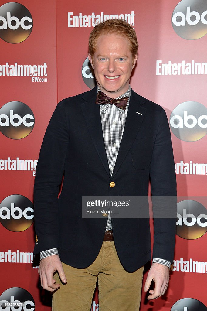 <a gi-track='captionPersonalityLinkClicked' href=/galleries/search?phrase=Jesse+Tyler+Ferguson&family=editorial&specificpeople=633114 ng-click='$event.stopPropagation()'>Jesse Tyler Ferguson</a> attends the Entertainment Weekly & ABC-TV Upfronts Party at The General on May 14, 2013 in New York City.
