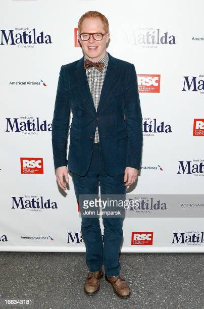 Jesse Tyler Ferguson attends the 'Matilda The Musical' Broadway Opening Night at Shubert Theatre on April 11 2013 in New York City