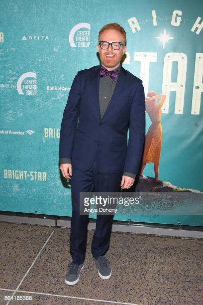 Jesse Tyler Ferguson attends the opening night of 'Bright Star' at Ahmanson Theatre on October 20 2017 in Los Angeles California