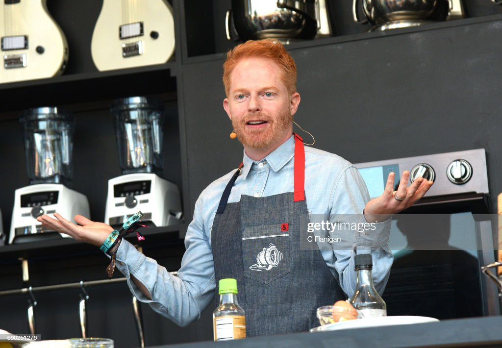 Jesse Tyler Ferguson is seen on the culinary stage during the 2017 BottleRock Napa Festival on May 26, 2017 in Napa, California.