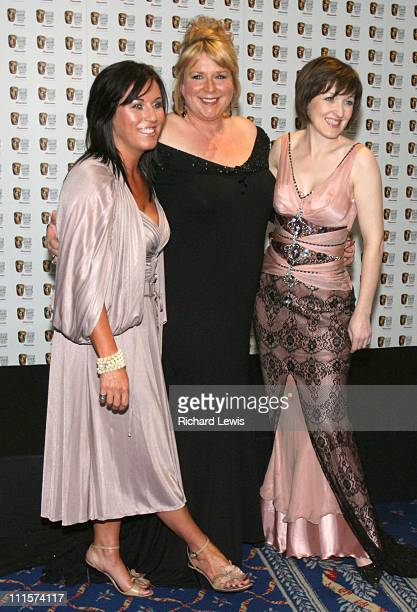 Jesse Wallace Fern Britton and Kacey Ainsworth during The 2006 British Academy Television Awards Press Room at Grosvenor House in London Great Britain