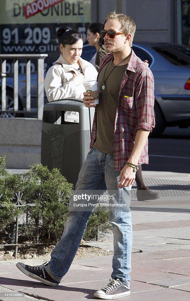 Jesse Wayne Johnson, Don Johnson's son, is seen on March 15, 2012 in Madrid, Spain.