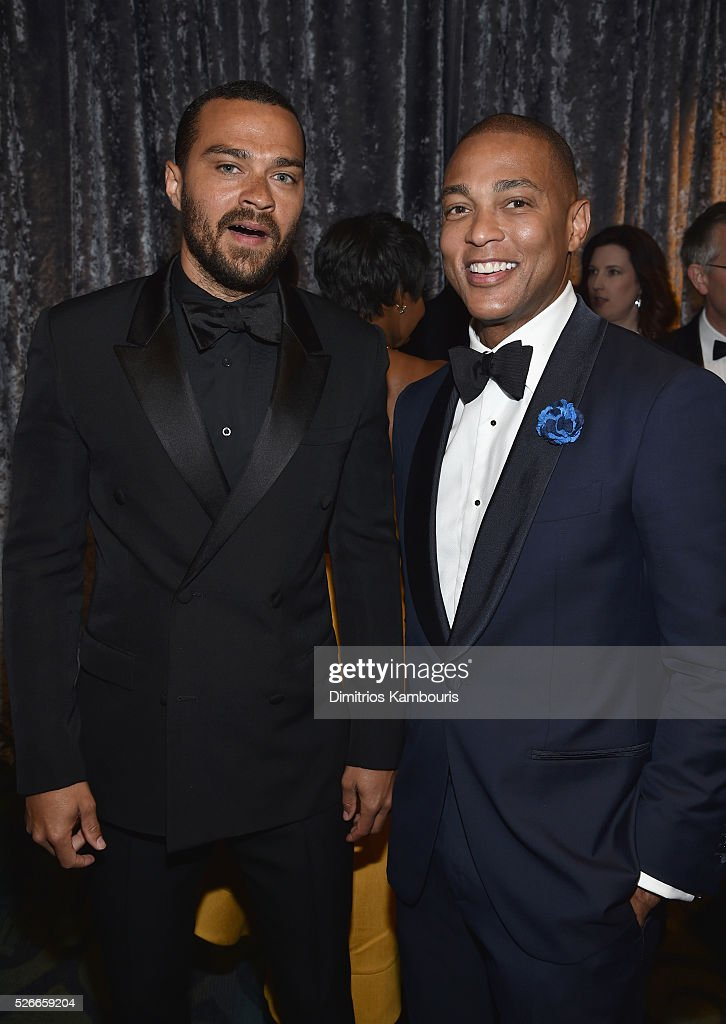 Jesse Williams (L) and Don Lemon attend the Yahoo News/ABC News White House Correspondents' Dinner Pre-Party at Washington Hilton on April 30, 2016 in Washington, DC.