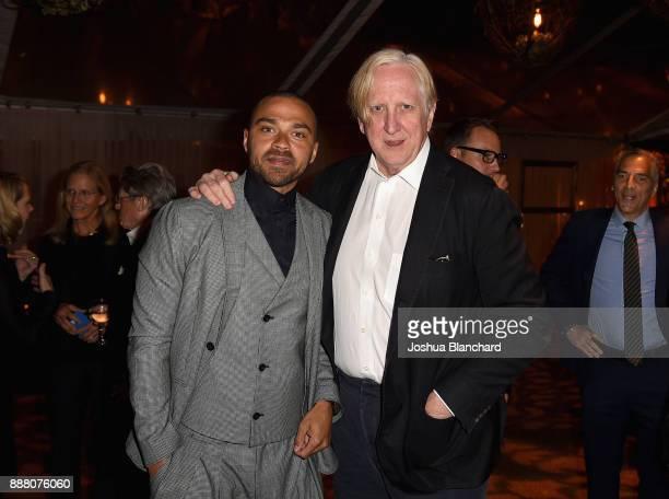 Jesse Williams and T Bone Burnett attend Norman Lear's 95th Birthday Celebration on December 7 2017 in Los Angeles California