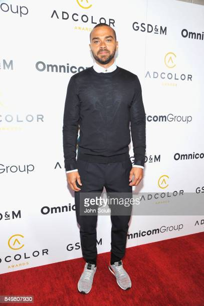 Jesse Williams attends the 11th Annual ADCOLOR Awards at Loews Hollywood Hotel on September 19 2017 in Hollywood California