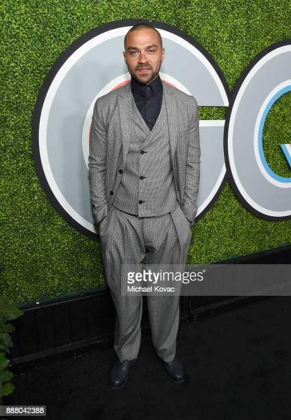 Jesse Williams attends the 2017 GQ Men of the Year party at Chateau Marmont on December 7 2017 in Los Angeles California