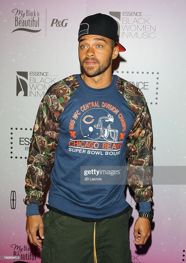 Jesse Williams attends the 4th Annual Essence Black Women In Music Event at Greystone Manor Supperclub on February 6, 2013 in West Hollywood, California.