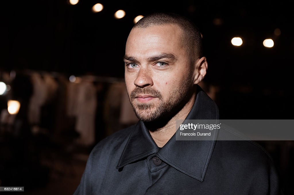 Jesse Williams attends the Kenzo Menswear Fall/Winter 2017-2018 show as part of Paris Fashion Week on January 22, 2017 in Paris, France.