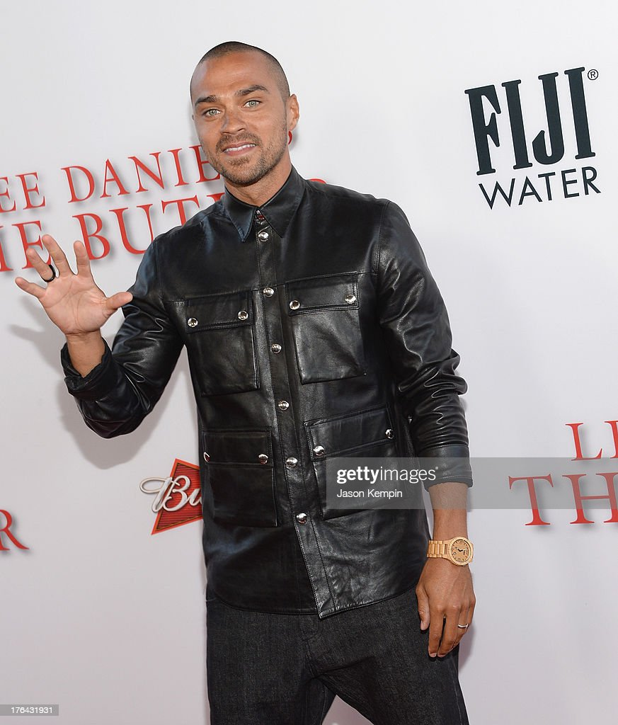 Jesse Williams attends the Los Angeles premiere of 'Lee Daniels' The Butler' at Regal Cinemas L.A. Live on August 12, 2013 in Los Angeles, California.