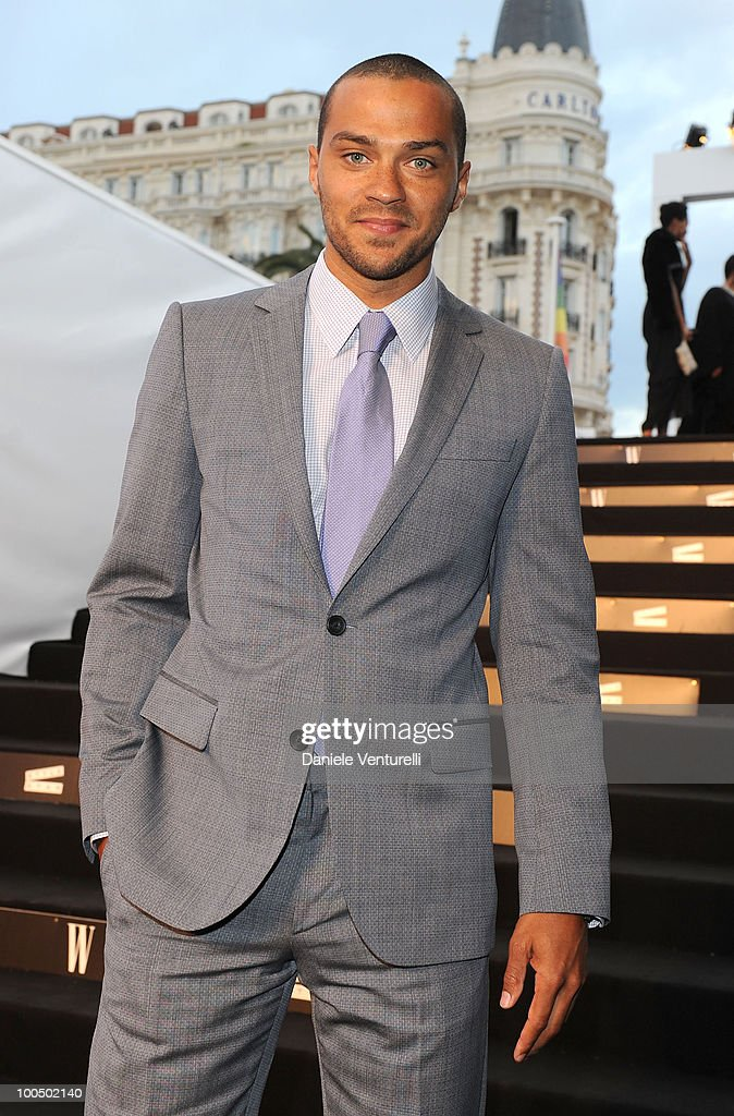 Jesse Williams attends the Style Star Party at Carlton Beach during the 63rd Annual International Cannes Film Festival on May 21, 2010 in Cannes, France.