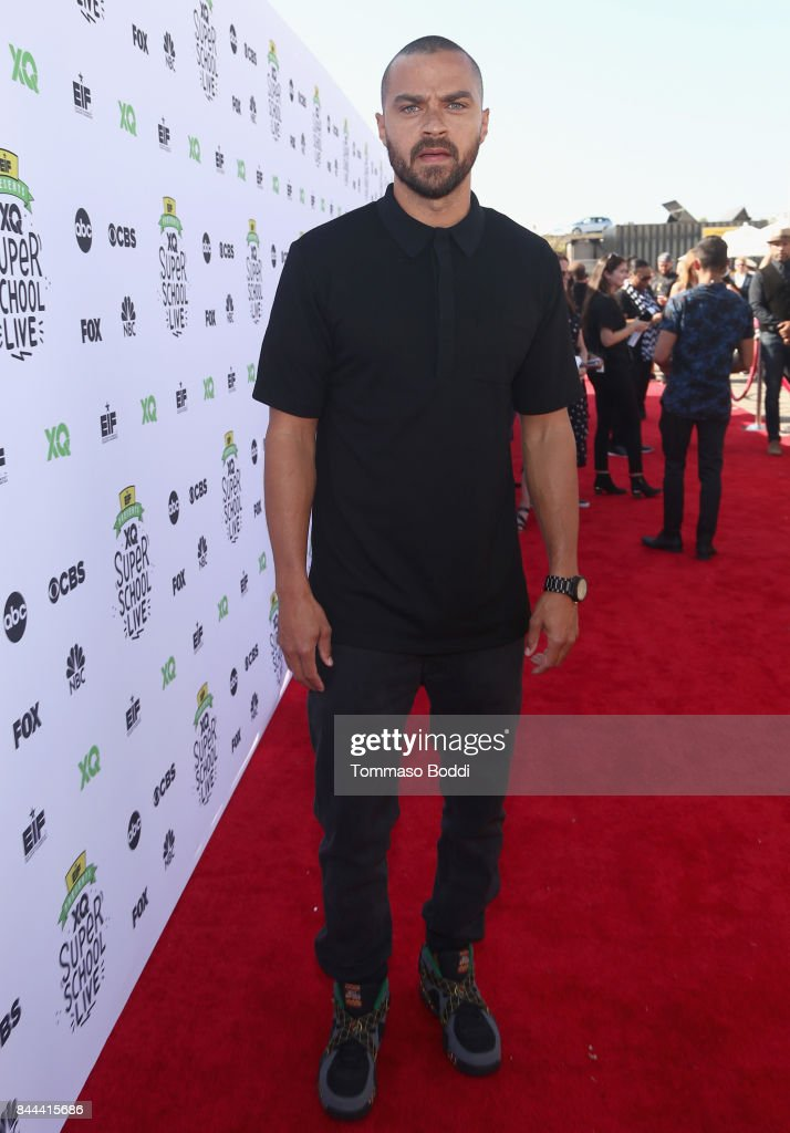 Jesse Williams attends XQ Super School Live, presented by EIF, at Barker Hangar on September 8, 2017 in Santa California.