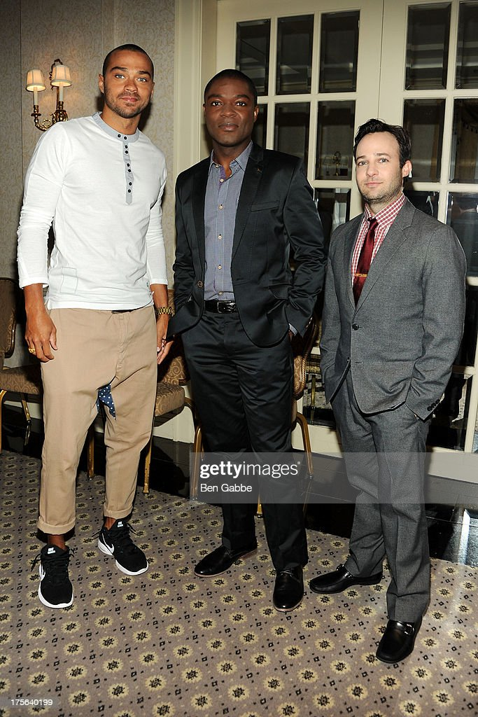 Jesse Williams, David Oyelowo and Danny Strong attend the press conference for The Weinstein Company's LEE DANIELS' THE BUTLER at Waldorf Astoria Hotel on August 5, 2013 in New York City.