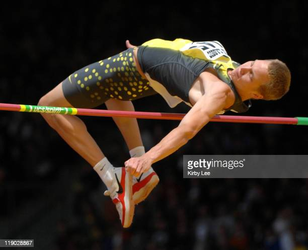 Jesse Williams was second in the high jump in the Prefontaine Classic at the University of Oregon's Hayward Field in Eugene Ore on Sunday June 10 2007