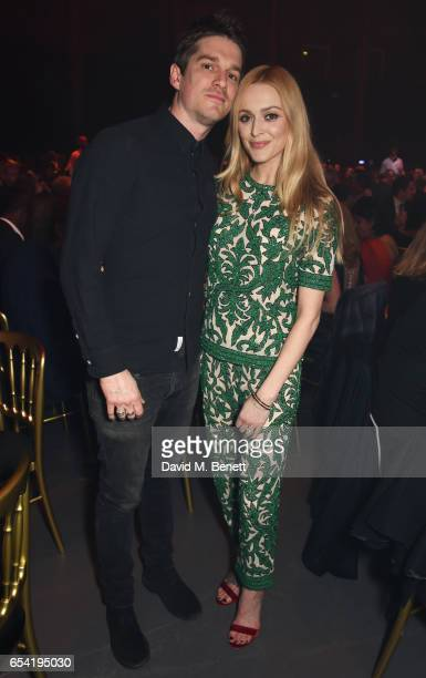 Jesse Wood and Fearne Cotton attend the Roundhouse Gala at The Roundhouse on March 16 2017 in London England