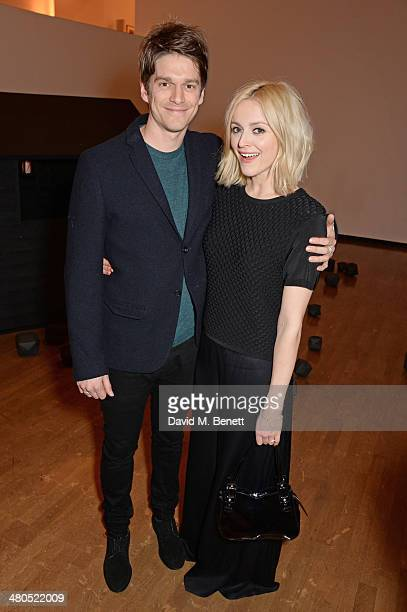 Jesse Wood and Fearne Cotton attend the Royal Academy Schools annual dinner and auction 2014 at Royal Academy of Arts on March 25 2014 in London...