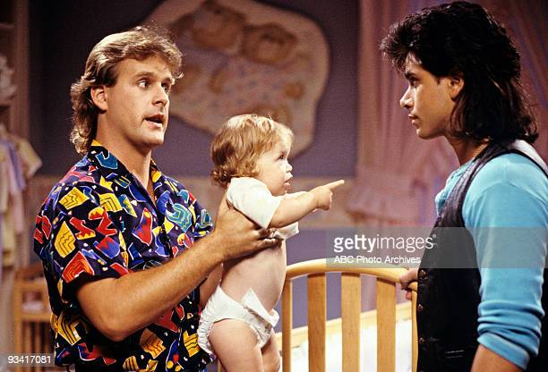 HOUSE 'Jesse's Girl' Season One 11/6/87 Joey and Jesse fought over the same girl Mary Kate Olsen also starred
