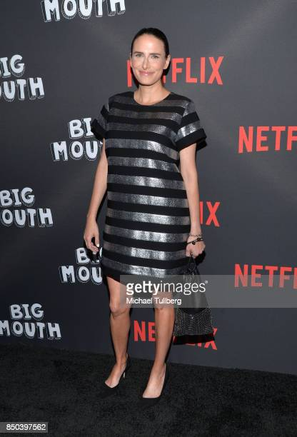 Jessi Klein arrives at the premiere of Netflix's 'Big Mouth' at Break Room 86 on September 20 2017 in Los Angeles California