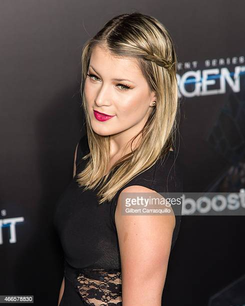 Jessi Smiles attends The Divergent Series' 'Insurgent' New York premiere at Ziegfeld Theater on March 16 2015 in New York City