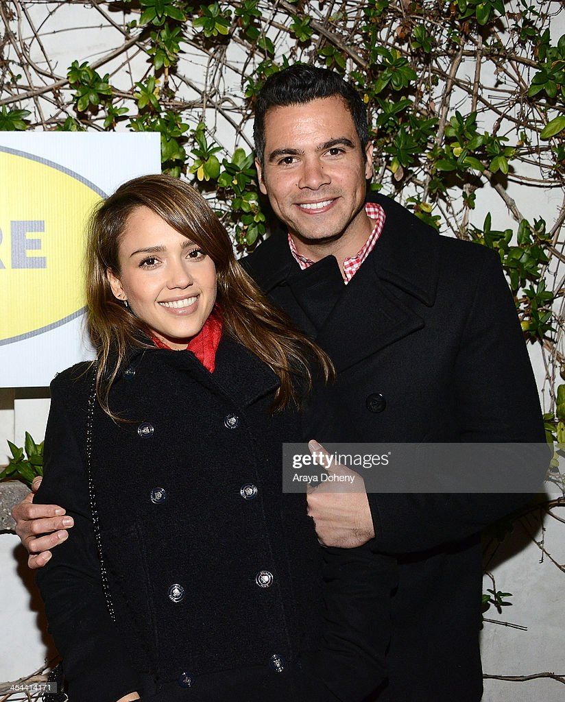 Jessica Alba and Cash Warren attend upLIFTing Los Angeles Ben Harper @ Sunset a private concert benefitting LIFTLA at Private Residence on December 8...