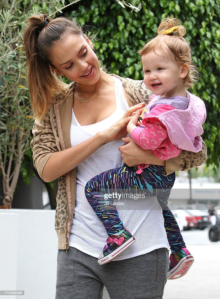 <a gi-track='captionPersonalityLinkClicked' href=/galleries/search?phrase=Jessica+Alba&family=editorial&specificpeople=201811 ng-click='$event.stopPropagation()'>Jessica Alba</a> and Haven Garner Warren are seen on July 21, 2013 in Los Angeles, California.