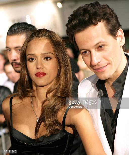 Jessica Alba and Ioan Gruffudd during 'Fantastic Four Rise of the Silver Surfer' Special Event at Will and Toby's in Sydney May 2 2007 at Will and...