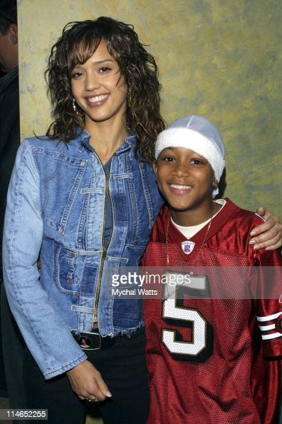 Jessica Alba and Lil Romeo...