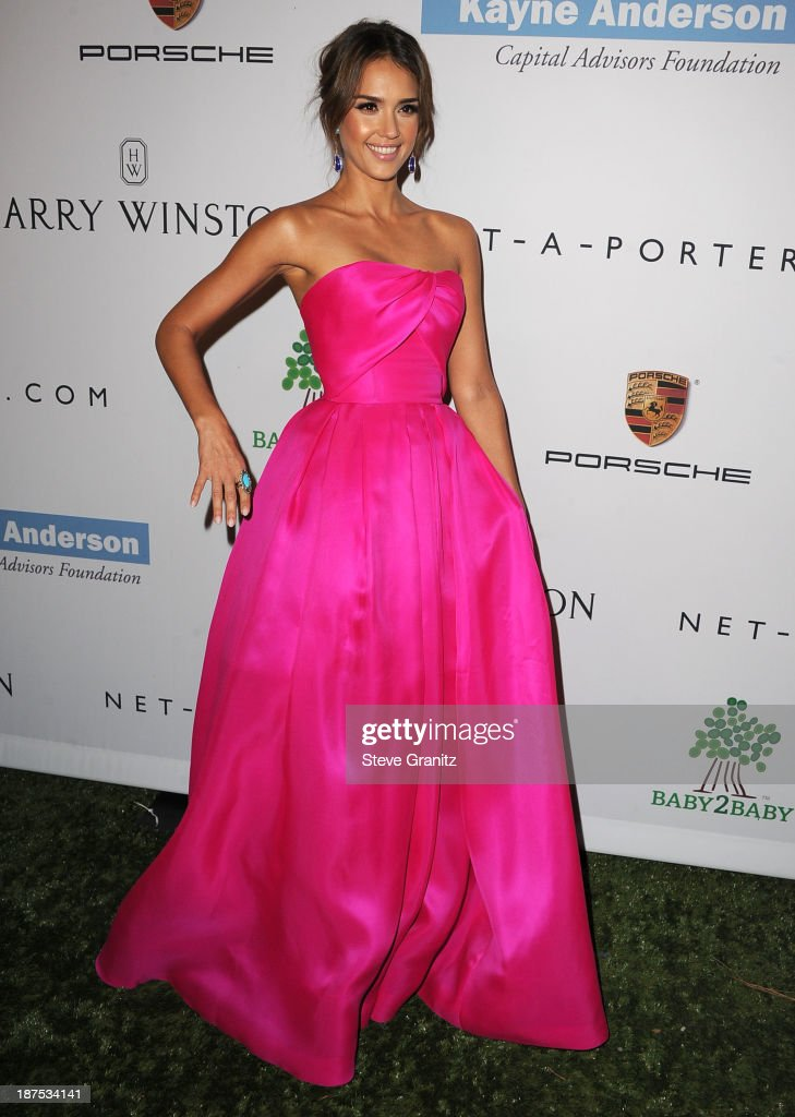 Jessica Alba arrives at the 2nd Annual Baby2Baby Gala at The Book Bindery on November 9, 2013 in Culver City, California.