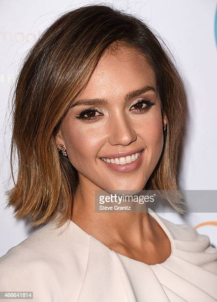 Jessica Alba arrives at the The Independent School Alliance For Minority Affairs Impact Awards Dinner at Four Seasons Hotel Los Angeles at Beverly...
