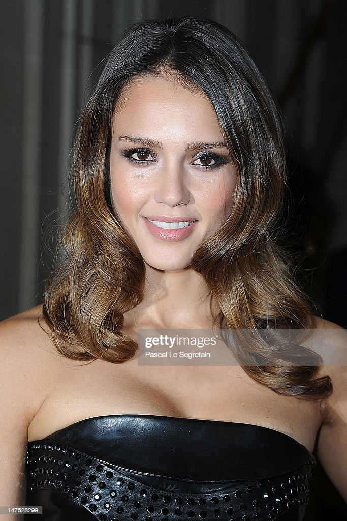 <a gi-track='captionPersonalityLinkClicked' href=/galleries/search?phrase=Jessica+Alba&family=editorial&specificpeople=201811 ng-click='$event.stopPropagation()'>Jessica Alba</a> arrives at the Versace Haute-Couture show as part of Paris Fashion Week Fall / Winter 2012/13 at the Ritz hotel on July 1, 2012 in Paris, France.