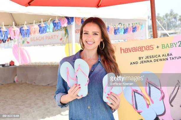 Jessica Alba attends Baby2Baby Beach Playdate Presented By Havaianas on June 2 2017 in Santa Monica California