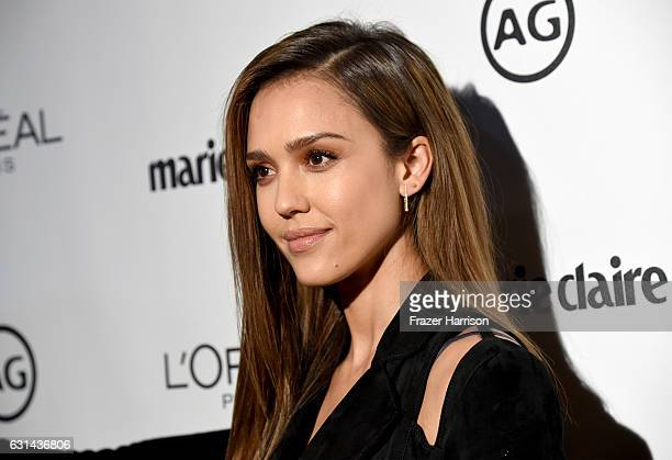 Jessica Alba attends Marie Claire's Image Maker Awards 2017 at Catch LA on January 10 2017 in West Hollywood California
