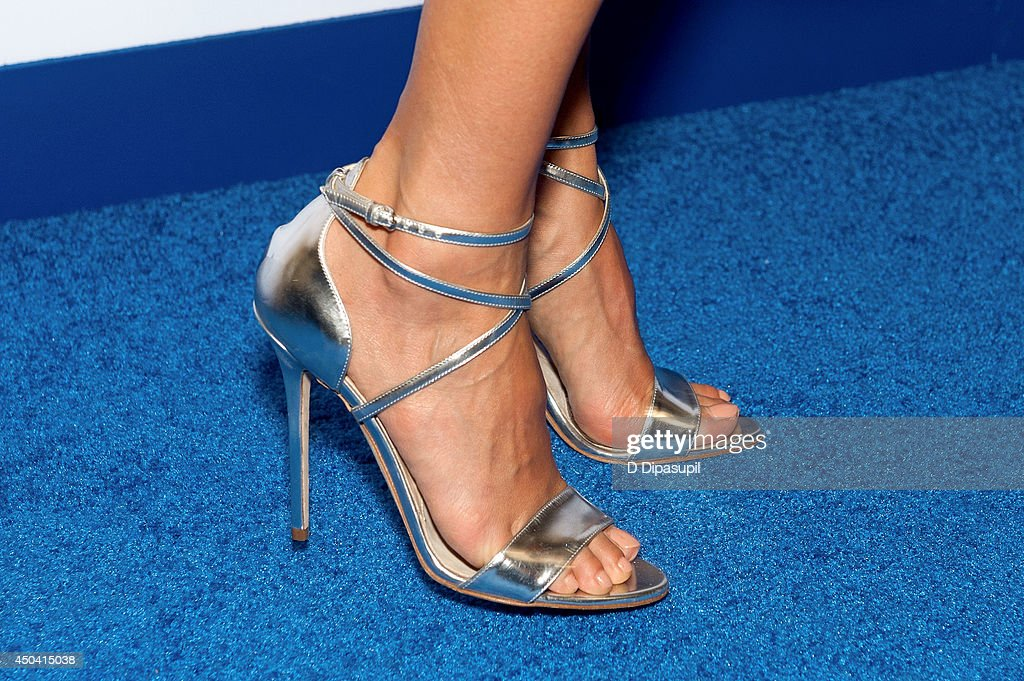 Jessica Alba (shoe detail) attends the 13th Annual Samsung Hope For Children Gala at Cipriani Wall Street on June 10, 2014 in New York City.