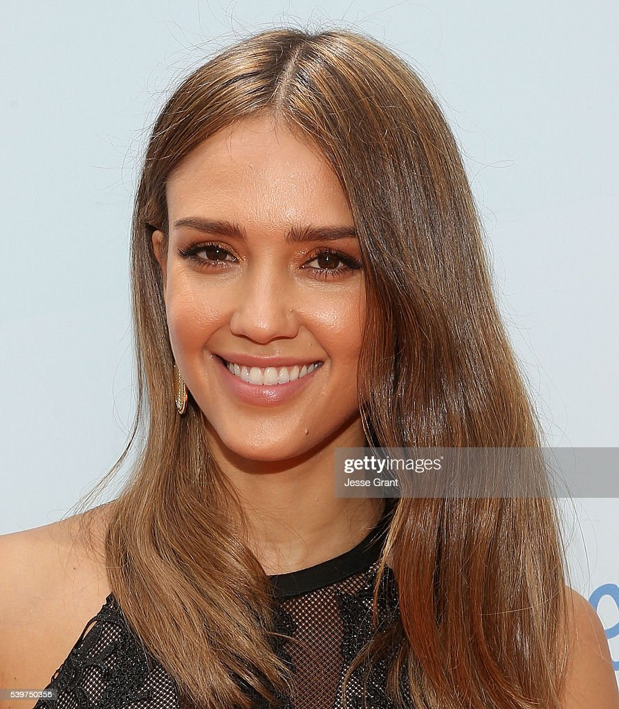 Jessica Alba attends the Children Mending Hearts and Vintage Grocers Presents the 8th Annual 'Empathy Rocks' event on June 12 2016 in Beverly Hills...