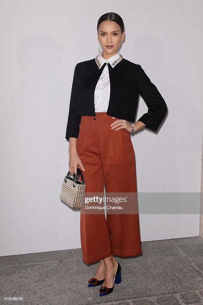 Christian Dior  : Front Row- Paris Fashion Week Womenswear Fall/Winter 2016/2017