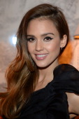 Jessica Alba attends the 'CR Fashion Book Issue 2' Carine Roitfeld Cocktail as part of Paris Fashion Week at Hotel ShangriLa on March 5 2013 in Paris...