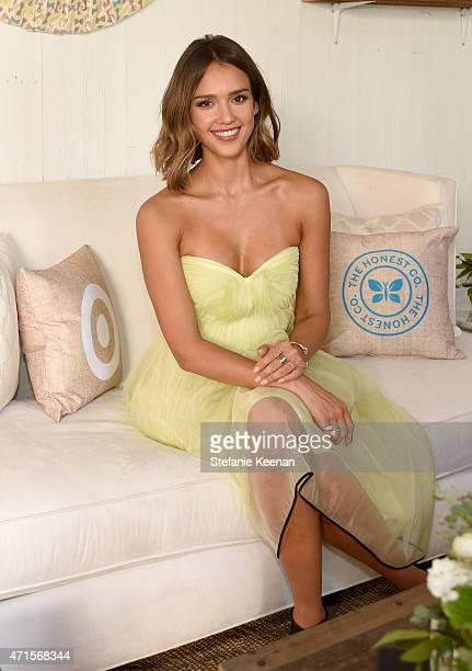 Jessica Alba attends The Honest Company at Target oneyear anniversary event on April 29 2015 in Los Angeles California