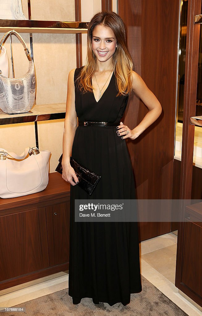 <a gi-track='captionPersonalityLinkClicked' href=/galleries/search?phrase=Jessica+Alba&family=editorial&specificpeople=201811 ng-click='$event.stopPropagation()'>Jessica Alba</a> attends the launch of the Salvatore Ferragamo London Flagship Store on Old Bond Street on December 5, 2012 in London, England.