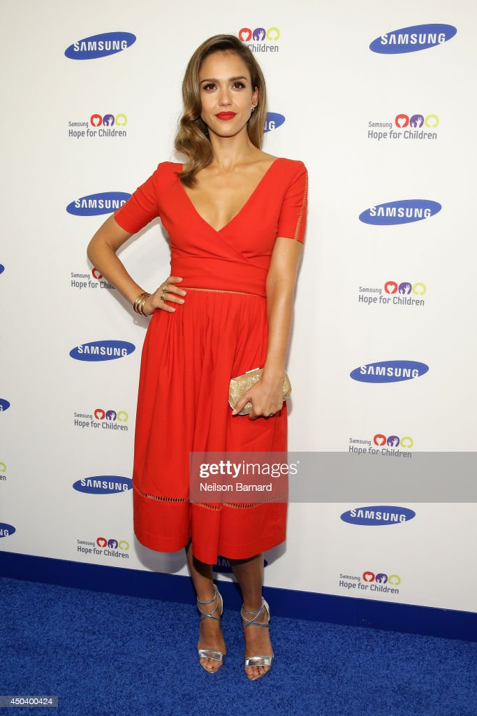 <a gi-track='captionPersonalityLinkClicked' href=/galleries/search?phrase=Jessica+Alba&family=editorial&specificpeople=201811 ng-click='$event.stopPropagation()'>Jessica Alba</a> attends the Samsung Hope For Children Gala 2014 on June 10, 2014 in New York City.
