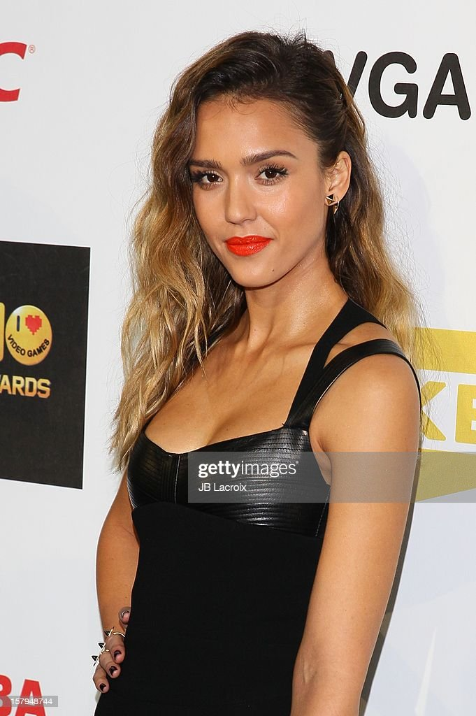 Jessica Alba attends the Spike TV's 10th Annual Video Game Awards at Sony Studios on December 7 2012 in Los Angeles California