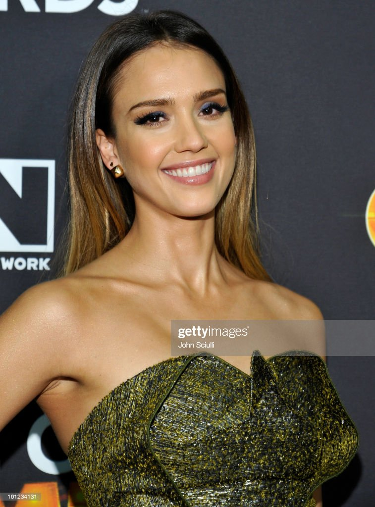 <a gi-track='captionPersonalityLinkClicked' href=/galleries/search?phrase=Jessica+Alba&family=editorial&specificpeople=201811 ng-click='$event.stopPropagation()'>Jessica Alba</a> attends the Third Annual Hall of Game Awards hosted by Cartoon Network at Barker Hangar on February 9, 2013 in Santa Monica, California. 23270_004_JS_0251.JPG