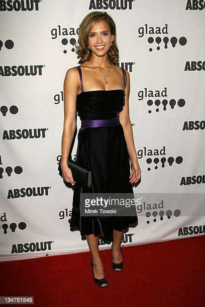Jessica Alba during 17th Annual GLAAD Media Awards at Kodak Theatre in Hollywood California United States