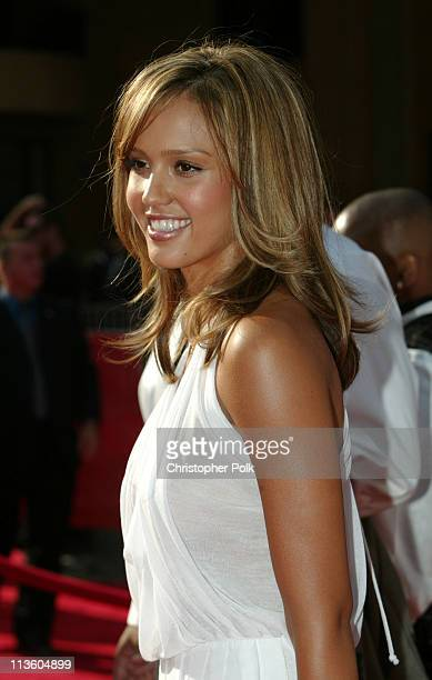 Jessica Alba during 2003 ESPY Awards Arrivals at Kodak Theatre in Hollywood California United States