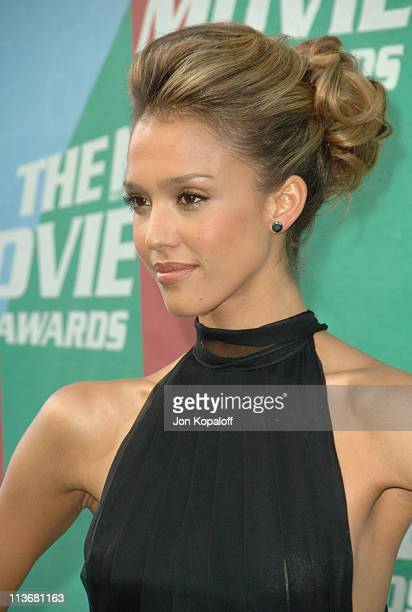 Jessica Alba during 2006 MTV Movie Awards Arrivals at Sony Studios in Culver City California United States