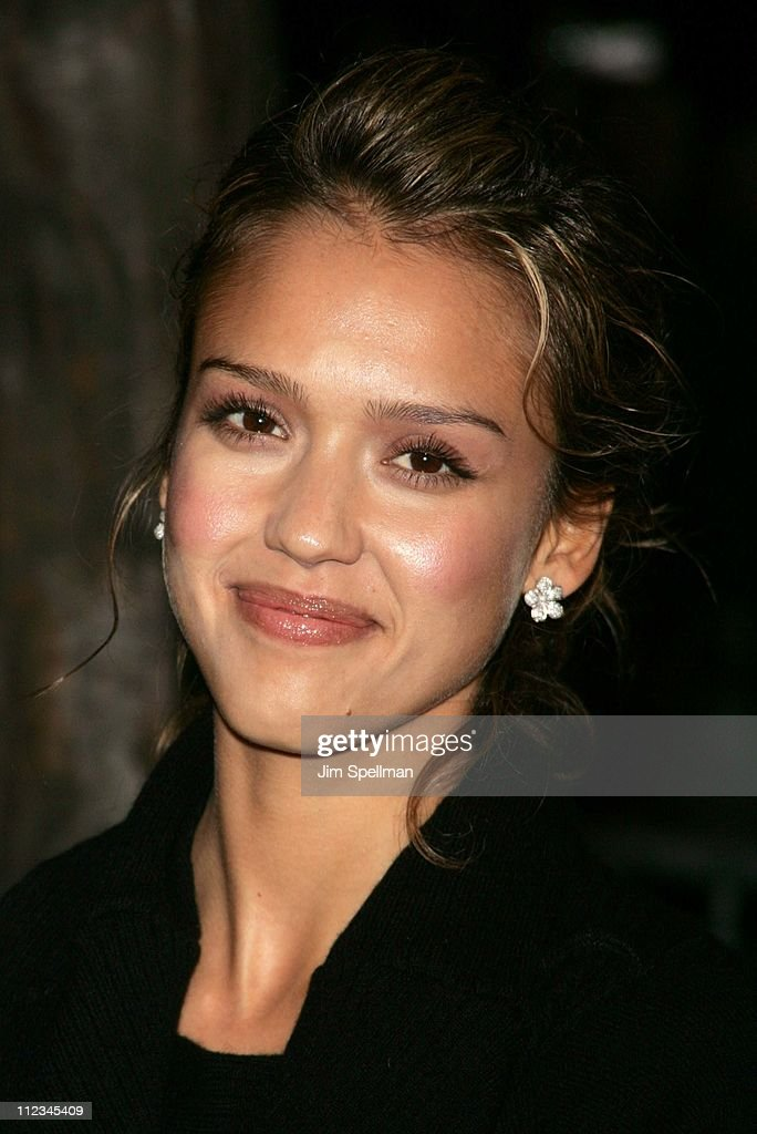 Jessica Alba during 20th Century Fox's 'Walk the Line' New York Premiere - Outside Arrivals at Beacon Theater in New York City, New York, United States.